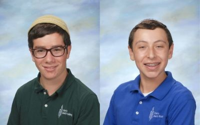 AJA students Zach Mainzer and Abe Schoen finished fourth in a national moot beit din competition.
