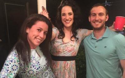 Moishe House Buckhead is home to Cassidy Artz (left), Aviva Leigh and Matt Spruchman.