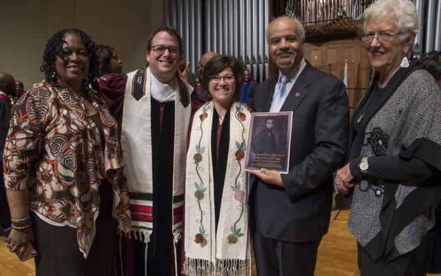 Photos by Heidi Morton. Rabbis Brad Levenberg and Ellen Nemhauser are the fifth and sixth rabbis inducted into the Board of Preachers since 2009.