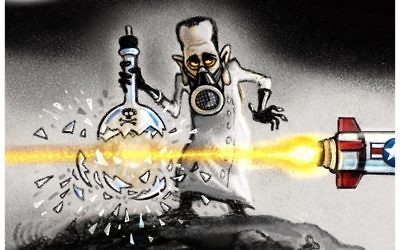 Cartoon by Steve Sack, Minneapolis Star Tribune.