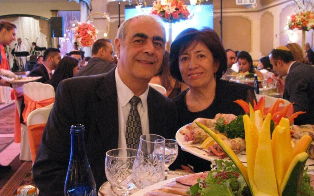 Sophia Babayev and her husband, Isaac, attend a Bukharan wedding.