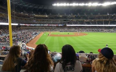The Chop House in right field is one of the stadium's best locations to watch a game.