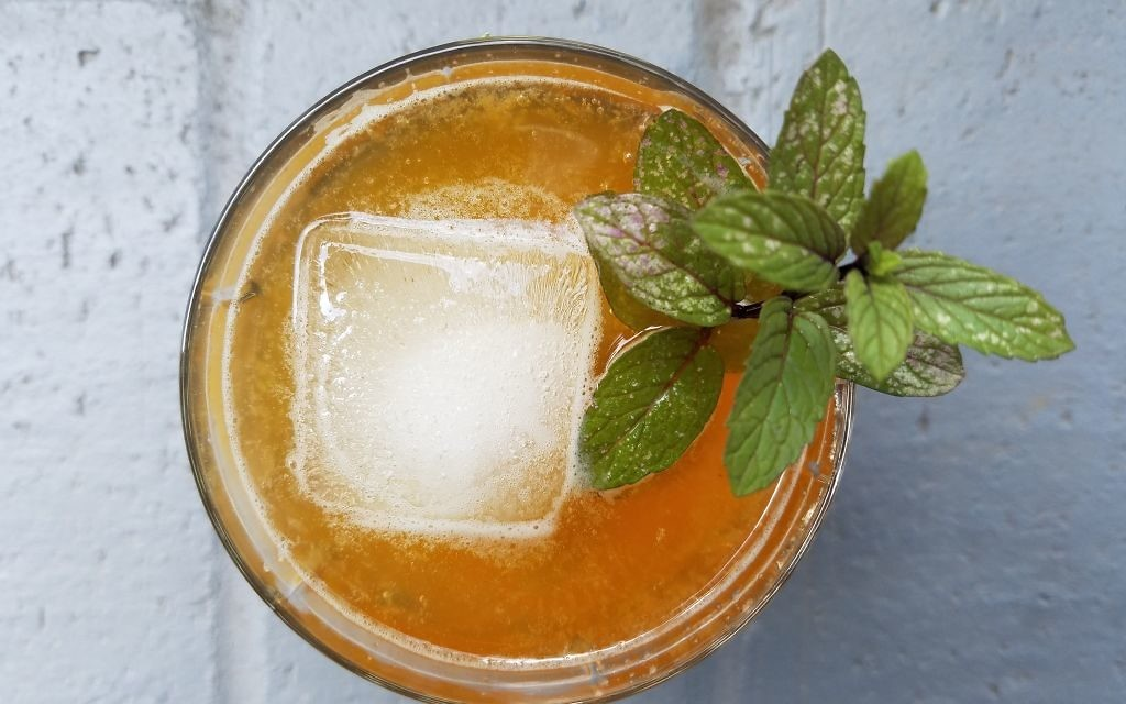 Beer fits the role of grain in Shavuot, and the Lemon-Gin Shandy is a fresh, seasonal way to use beer.