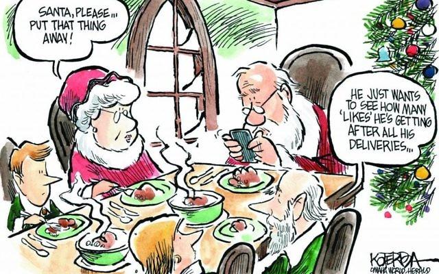 Cartoon by Jeff Koterba, Omaha World Herald