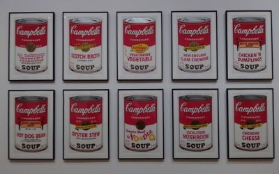Andy Warhol , Campbell's Soup I: