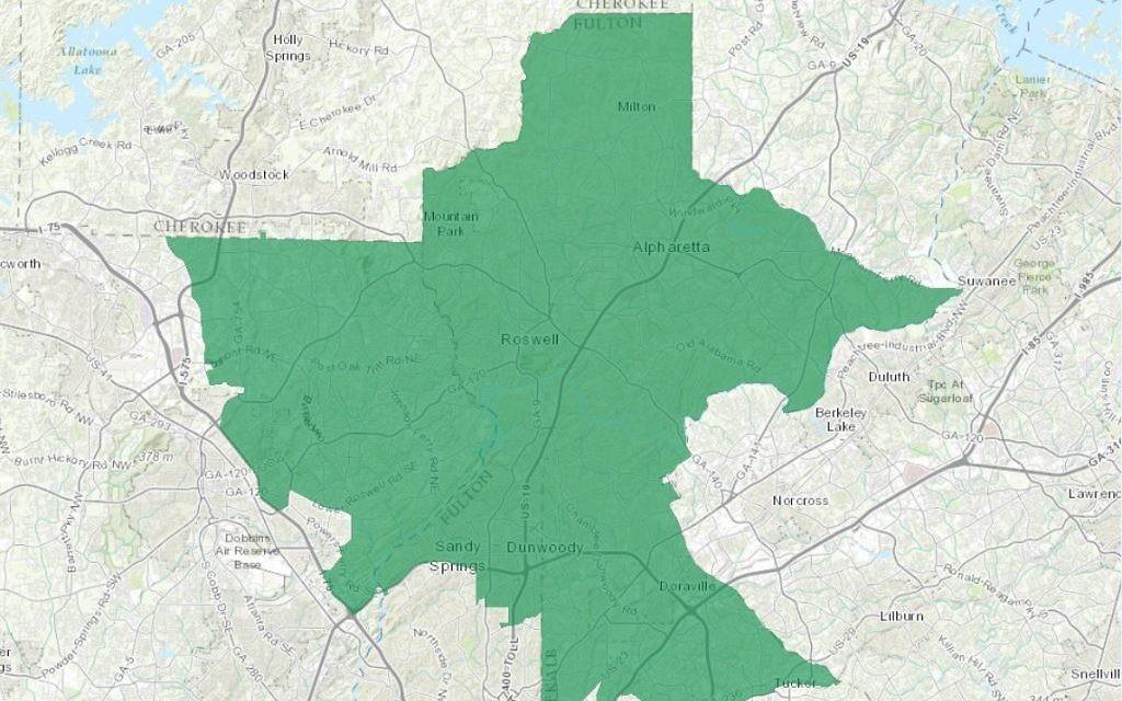 Atlanta Political Map.Political Differences Can Unite Us Atlanta Jewish Times