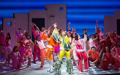 """""""Mamma Mia!"""" will hit the Fox Theatre for eight shows from June 13 to 18. (Photo by Kevin Thomas Garcia)"""