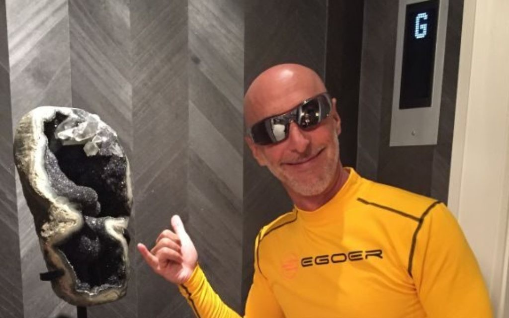 Buckhead entrepreneur Woody Alpern, an on-the-go athlete, models EGOER Equator 3 sunglasses.