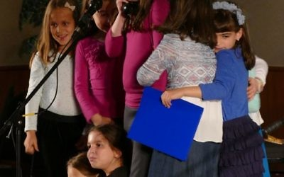Their skit brings the CMCH first- and second-grade girls together.