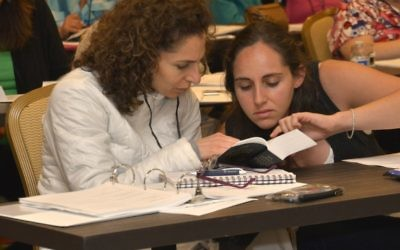 For five days each summer, educators from day schools, synagogues and other programs study together with the Center for Israel Education.