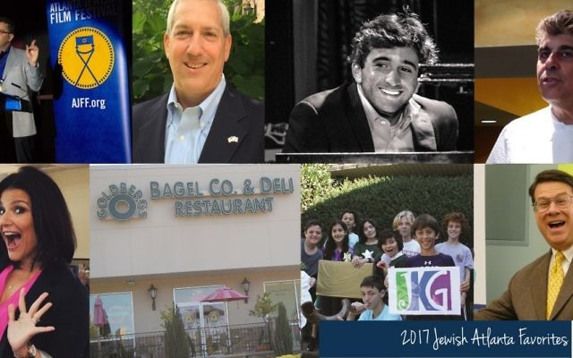 A few of our reader's picks for the 2017 Jewish Atlanta Favorites include the Atlanta Jewish Film Festival, Andy Bauman, Joe Alterman, Alon's Bakery, Mara Davis, Goldberg's Bagels, Jewish Kids Groups and Sandy Springs.