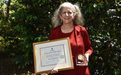 Janet Rechtman has been honored for her work in helping develop nonprofit leaders in Georgia and elsewhere.