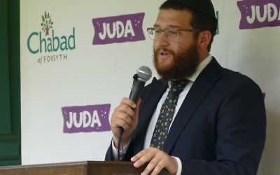 Los Angeles native Rabbi Levi Mentz has established the northernmost outpost of Chabad of Georgia, off Ga. 400 Exit 13, about 13 miles beyond Chabad of North Fulton.