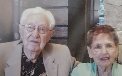 Joseph and Doris Perling have been married 73 years.