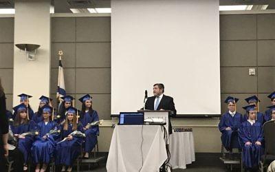 Torah Day School's acting head of school, Rabbi Elimelech Gottlieb, stresses the individual treatment students receive.