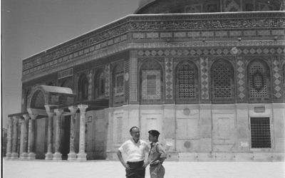 Israel wasn't planning to capture the Temple Mount in 1967, but it happened. (GPO photo)