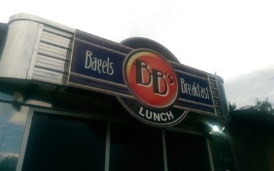 BB's Bagels is in Alpharetta at 770 McFarland Parkway.