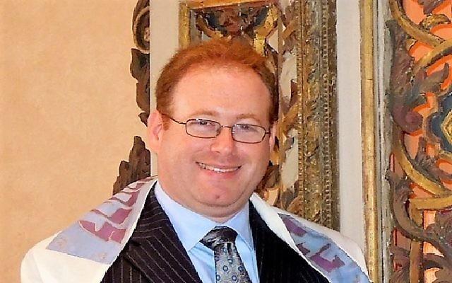 Rabbi Jordan Ottenstein hopes to bring stability to the Dor Tamid bimah.