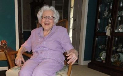 Evelyn Alexander's 100th birthday is July 23.