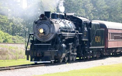 Delivered in 1904 and retired after a half-century of hauling freight, Southern Railroad No. 630 now hauls passengers on scenic excursions from the Tennessee Valley Railroad Museum. (Photo by Jeff Orenstein)