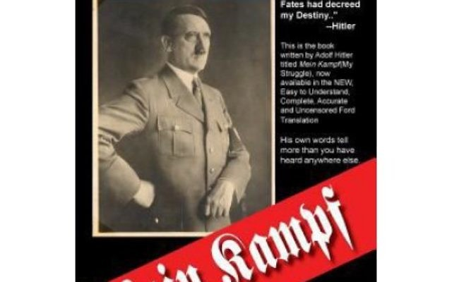 "Aside from questions about whether high school students should have had ""Mein Kampf"" as a summer reading assignment, Galloway is being criticized for the choice of translation."