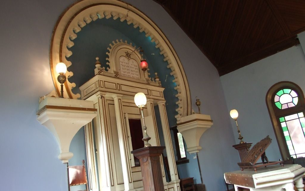 Temple Gemiluth Chassed in Port Gibson, Miss., is part of the Southern Jewish history the new museum will preserve.