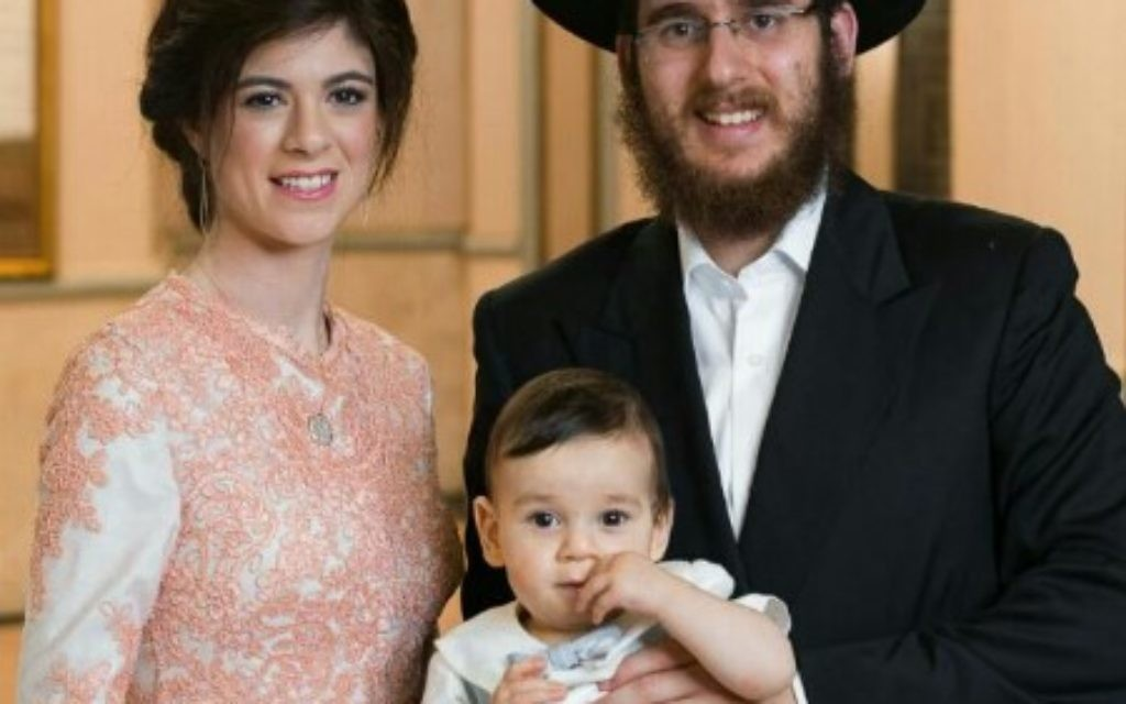 Rabbi Gedalya Hertz and his wife, Ruthy Hertz, have arrived with son Mendel to serve as Chabad of Cobb & North Fulton's new youth directors