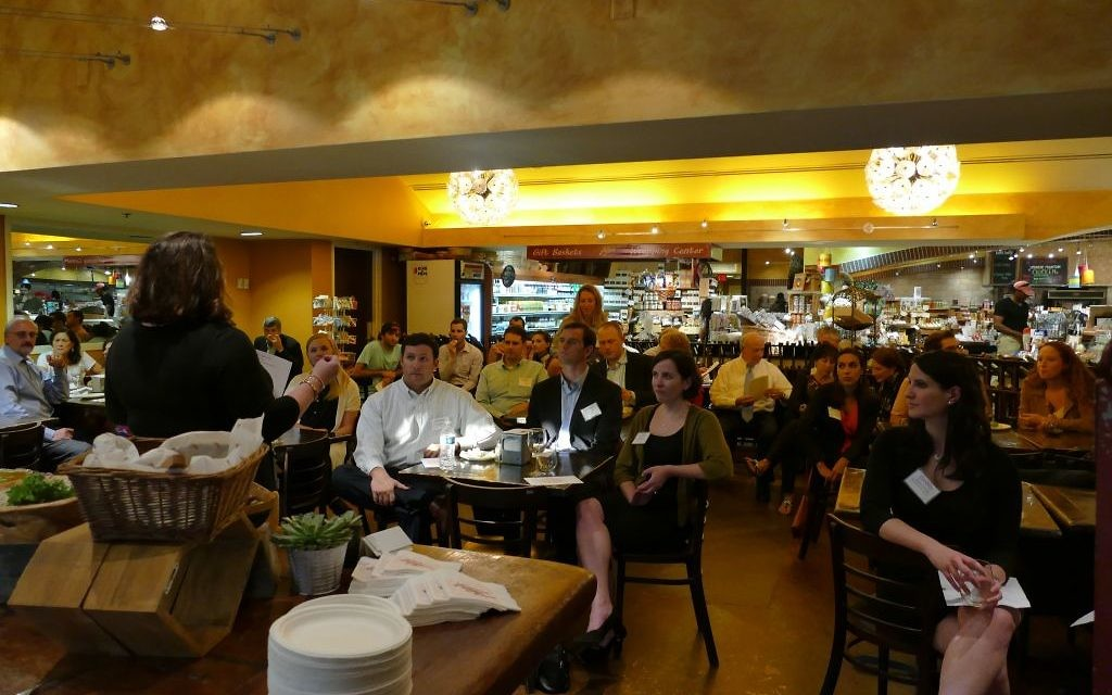 The Conexx young professionals event draws a wide range of ages to Alon's on Sept. 14.