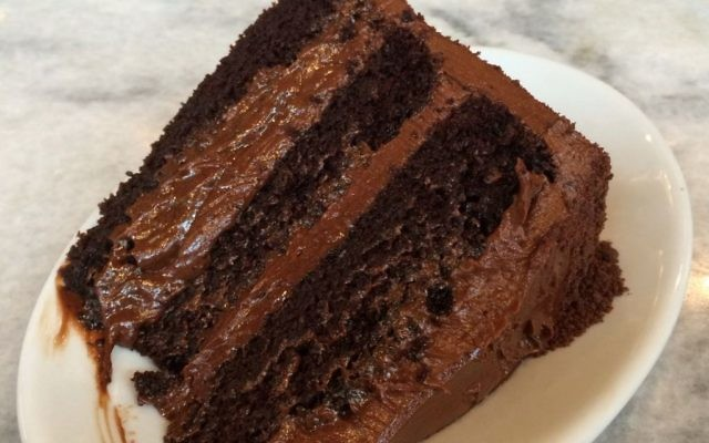 It takes a lot of discipline to resist the blackout chocolate cake at The General Muir (or the pleas of a child for a slice). (Photo by Carl Black, Decatur, via Wikimedia Commons)