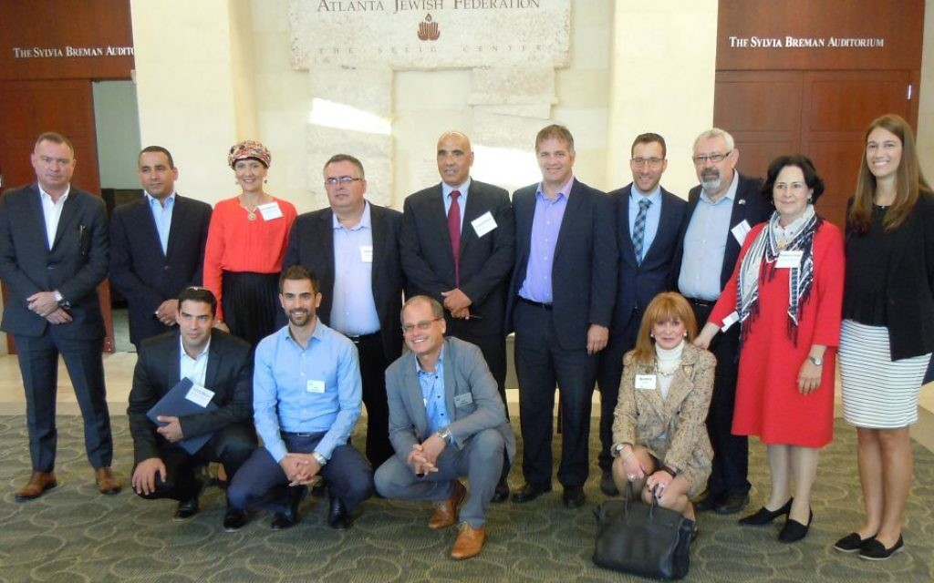 Knesset members  visit Atlanta for the first time during a Jewish Agency for Israel trip.