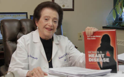 Nanette Wenger is a pioneer in studying heart disease in women.