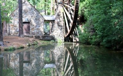 The old mill at Berry College in Rome is a beautiful place to visit, but an interview involves more than seeing the sites. (Photo by Jeff Orenstein)