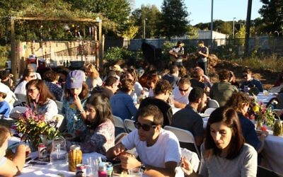 The 2016 Sukkot farm-to-table dinner at Aluma Farm in Adair Park, which drew about 80 people, has spawned the Marcus JCC's first Sukkot Farm-to-Table Festival.