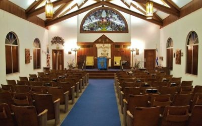 About 15 to 20 people will gather for High Holidays in the Waycross Hebrew Center, built more than 60 years ago to hold 100 worshippers.