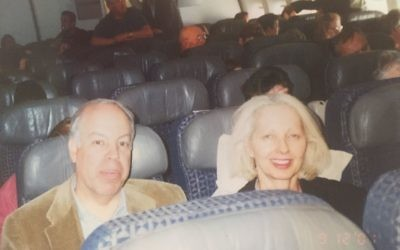 Roughly 24 hours after boarding in Ireland, Marilyn and Geoffrey Posner and their fellow passengers are still on board the jet while subsisting on peanuts in Newfoundland.