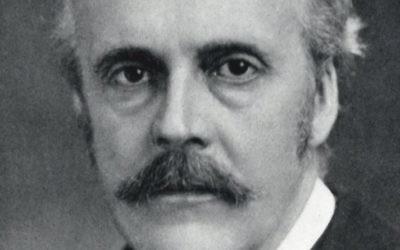 British Foreign Secretary Arthur Balfour