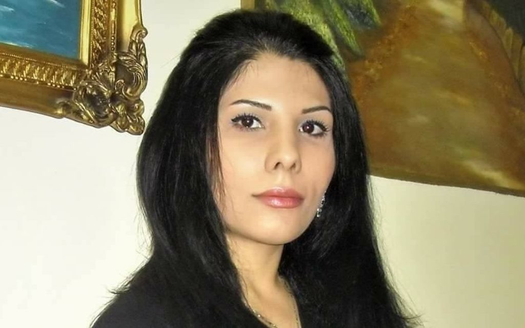 Blogger, journalist and activist Neda Amin left Iran in 2014 amid threats against her life and now lives in Israel, where she writes for The Times of Israel.