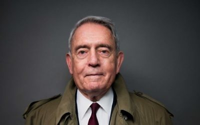 Dan Rather. (Photo by Ben Baker)