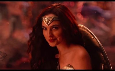 "Not surprisingly, lots of Israeli girls want to be like Gal Gadot this year. (Screen grab from ""Justice League"" trailer)"