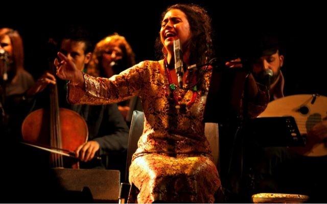 Photo courtesy of Neta Elkayam Neta Elkayam performs the music of the great Moroccan Jewish singer Zohra Al Fassia.