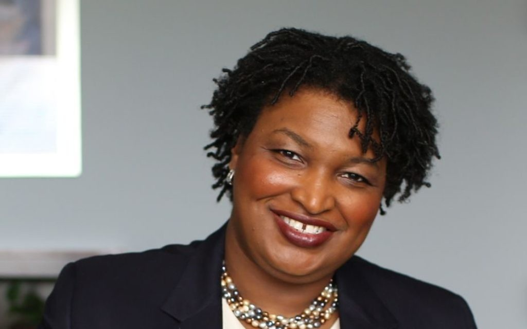 Former House Minority Leader Stacey Abrams of Atlanta is a Democratic candidate for governor in 2018.