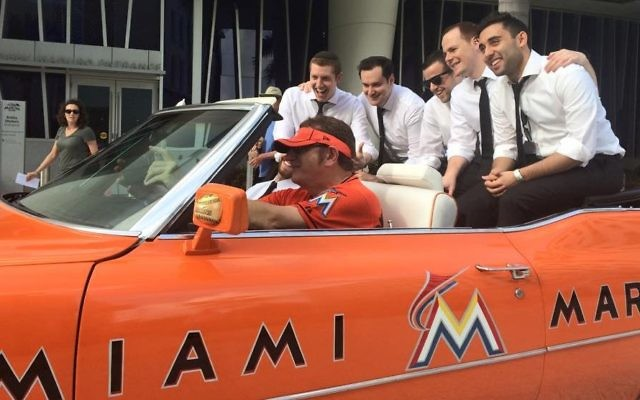 We can't be sure this won't be the starting infield of the 2018 Miami Marlins.