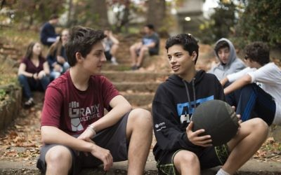 The first Atlanta Jewish Teen Initiative intensive focuses on sports.