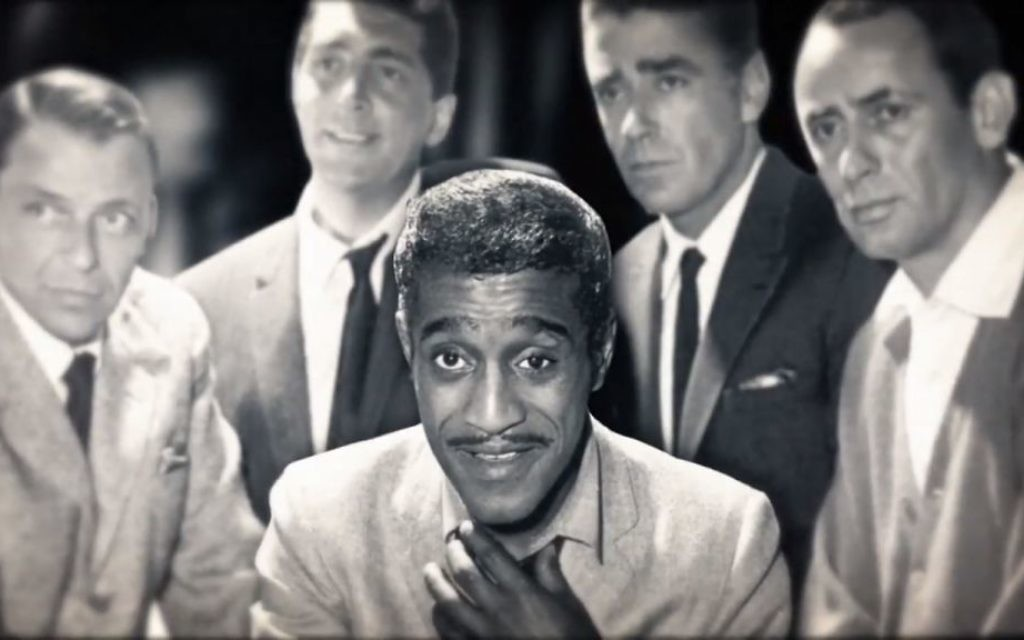 Sammy Davis Jr. is remembered as part of the Rat Pack. (Screen grab from the documentary trailer)