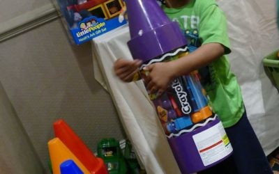 Children get to pick their own toys as holiday gifts.