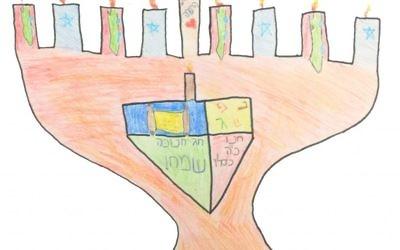 Romy Gellis, 11, sixth grade, Atlanta Jewish Academy Parent Aliza Gellis, Toco Hills