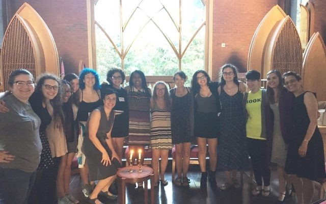 The Agnes Scott College Hillel brings together students, not all of them Jewish, to celebrate Shabbat.