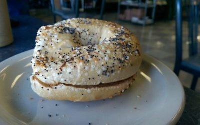 The bagels from Bagel Palace are kettle-boiled in classic New York style.