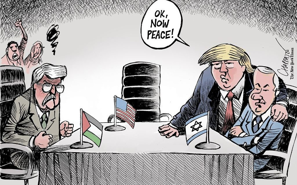 Cartoon by Patrick Chappatte, The International New York Times