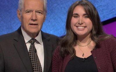 "Lindsay Resnick charmed ""Jeopardy!"" host Alex Trebek."